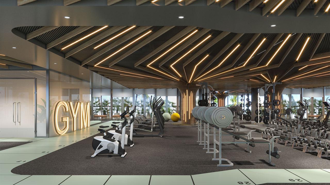 Phòng Gym 24\7